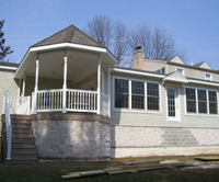Porch, Remodeling Contractor, Hummelstown PA Photo - Easy Siders Home Improvement Co., Inc.