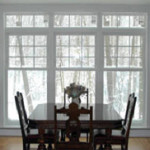 Dining Room, Replacement Windows, Harrisburg PA Photo - Easy Siders Home Improvement Co., Inc.