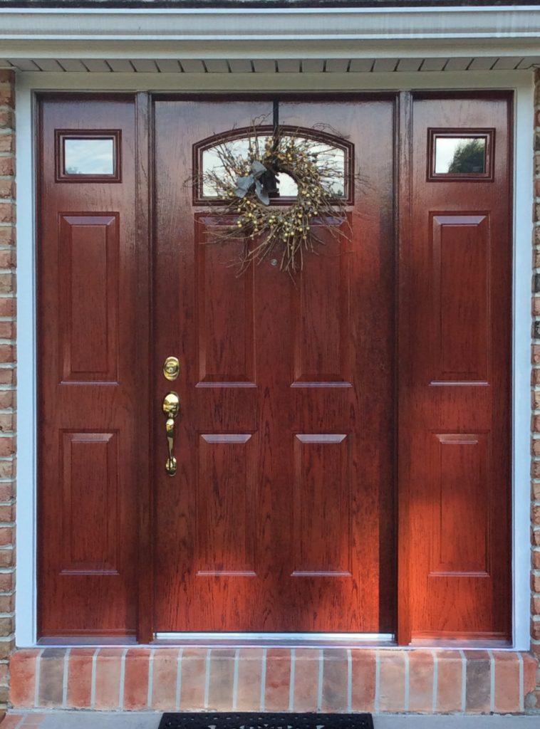 Entry Door Tweed After