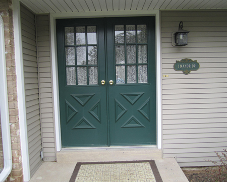 Before Entry Door